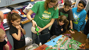 Third graders learn about the watershed and water quality in Onondaga Lake