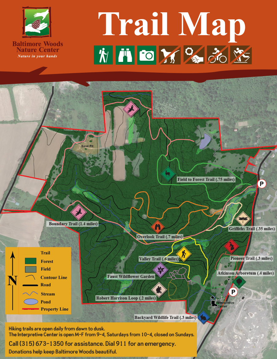 Interpretive Center & Trails – Welcome to Baltimore Woods Nature