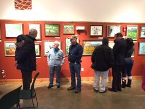 John Weeks in the Gallery