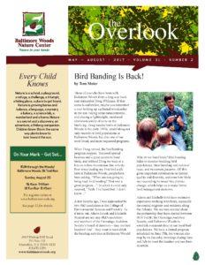 cover of Overlook Newsletter