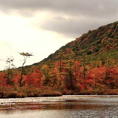 autumn hills of upstate new york
